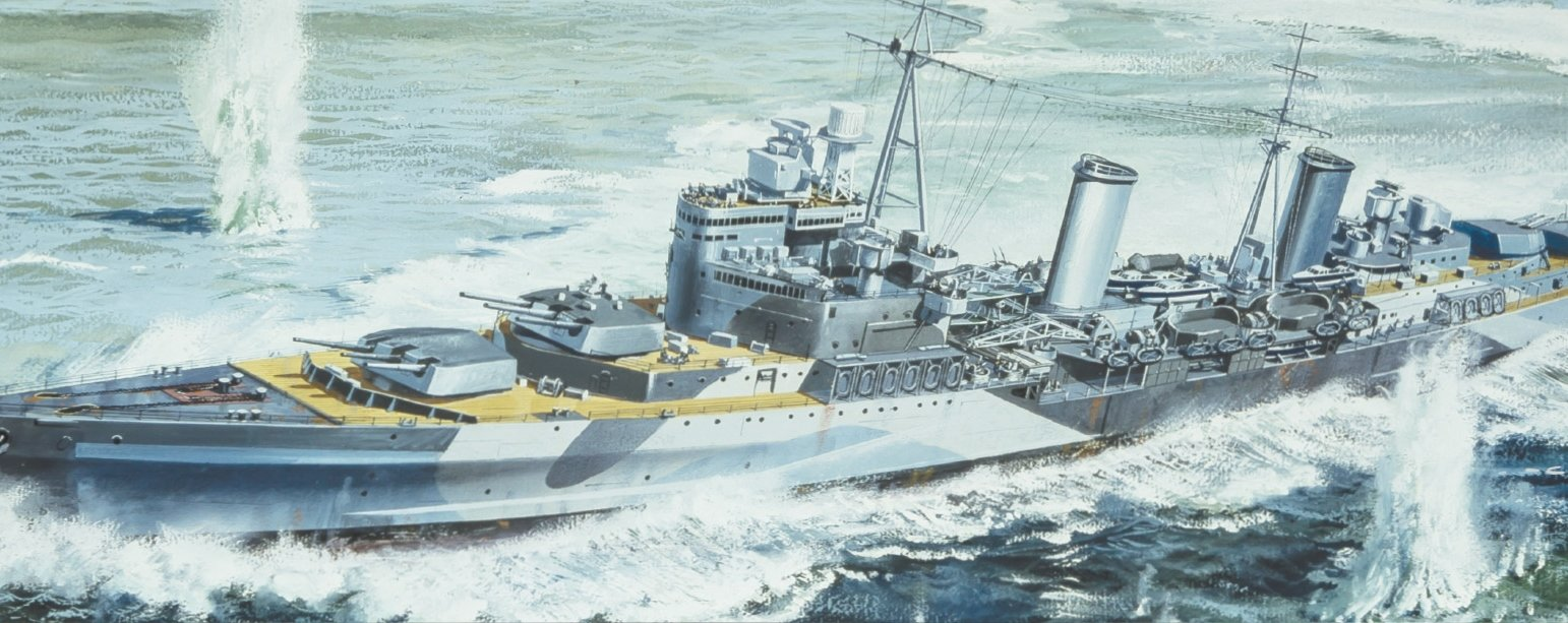 WARSHIPS-WWII