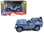 AUTO-WORLD-|-WILLYS-MB-JEEP-NAVY-WWII-(BLUE-GRAY)-1941-|-1:18