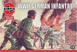 AIRFIX-CLASSICS-|-WWII-GERMAN-INFANTRY-(VINTAGE-CLASSICS)-|-1:76