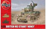 AIRFIX-|-BRITISH-M3-STUART-HONEY-(PLASTIC-BOUWPAKKET)--|-1:35