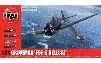 AIRFIX | GRUMMAN F6F-5 HELLCAT US NAVY (PLASTIC BOUWPAKKET)  | 1:24