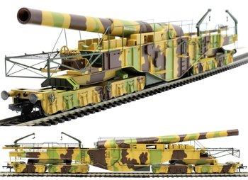 OXFORD RAIL   WWI BOCHE BUSTER 18 INCH HOWITZER RAILGUN CAMOUFLAGE   H0 00
