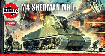 AIRFIX VINTAGE CLASSICS | SHERMAN M4 MK1 | 1:76