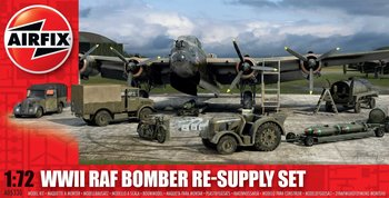 AIRFIX | WWII RAF BOMBER RE-SUPPLY SET (PLASTIC MODELBOUWDOOS) | 1:72