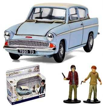 CORGI | HARRY POTTER FLYING FORD ANGLIA + FIGUREN | 1:43