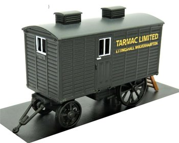 OXFORD DIECAST | LIVING WAGON TARMAC (WOONWAGEN) | 1:76