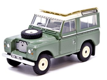 OXFORD DIECAST | LAND ROVER SERIES II STATION WAGON | 1:76