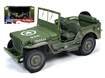 AUTO WORLD | WILLYS MB JEEP  'DIRTY' U.S. WWII 1941 | 1:18