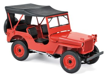 NOREV | JEEP WILLYS RED CANOPY 1942 | 1:18