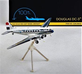 GEMINI200 | KLM DOUGLAS DC-3 PH-DAZ 1950 LIVERY | 1:200