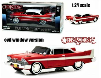 GREENLIGHT | CHRISTINE PLYMOUTH FURY 1958 EVIL VERSION | 1:24