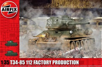 AIRFIX | T34/85 112 FACTORY PRODUCTION (PLASTICBOUWPAKKET) | 1:35