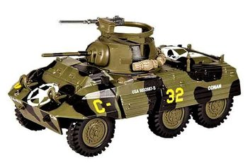 EAGLEMOSS | FORD M8 ARMORED CAR 2ND ARM DIV 'AVRANCHES (FRANCE)' WWII 1944 | 1:43