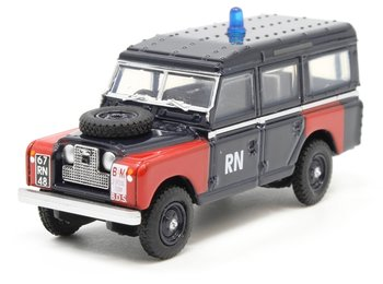 OXFORD DIECAST | LAND ROVER SERIES II LWB STATION WAGON 'ROYAL NAVY BOMP DISPOSAL | 1:76