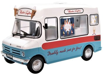 OXFORD DIECAST | BEDFORD CF ICE CREAM VAN 'MR SOFTEE' IJSCOWAGEN | 1:43