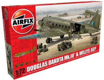 AIRFIX | DOUGLAS DAKOTA MKIII & WILLYS MB JEEP | 1:72