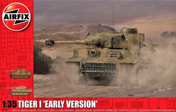 AIRFIX | TIGER I EARLY PRODUCTION VERSION (PLASTICBOUWPAKKET) | 1:35