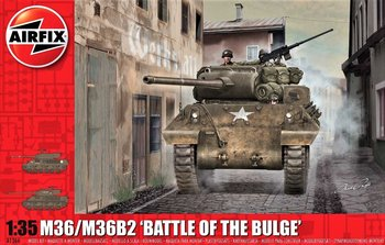AIRFIX | M36/M36B2 'BATTLE OF THE BULGE' (PLASTICBOUWPAKKET) | 1:35