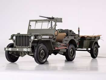 PREMIUM X | JEEP WILLYS MB & TRAILER WWII 1943 LIM.ED. | 1:8