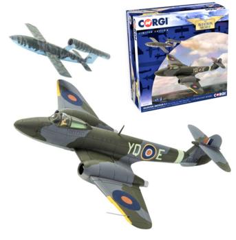 CORGI | GLOSTER METEOR F.1 RAF & V1 'DOODLEBUG' 1944 LIM.ED. | 1:72