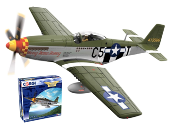 CORGI | NORTH AMERICAN P-51D MUSTANG 44-13586/C5-T 'HURRY HOME HONEY' USAAF 1944 LIM.ED. | 1:72