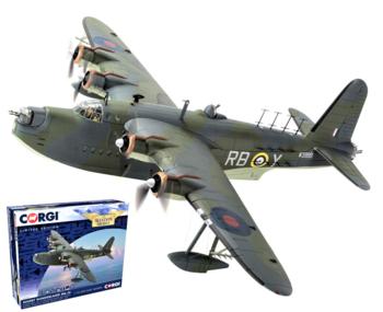 CORGI | SHORT SUNDERLAND Mk.III W3999 RB-Y No.10 Sq. RAAF 1942 LIM.ED. | 1:72