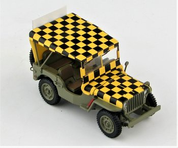 HOBBYMASTER | US WILLYS JEEP 'FOLLOW ME' US ARMY AIR FORCE WWII | 1:48