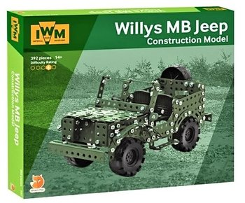 IWM | WILLYS MB JEEP (CONSTRUCTION MODEL) | 14+