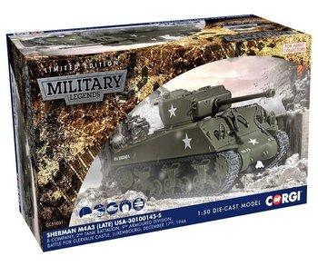 CORGI | SHERMAN M4A3 (LATE) US ARMY LUXEMBOURG 1944 LIM.ED. | 1:50