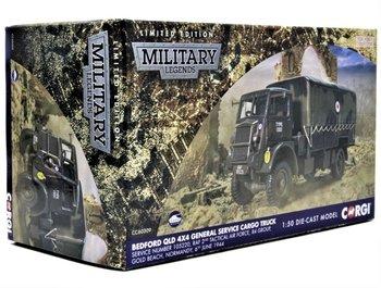 CORGI   BEDFORD QLD 4 x 4 GENERAL SERVICE CARGO TRUCK 1944 LIM.ED.   1:50