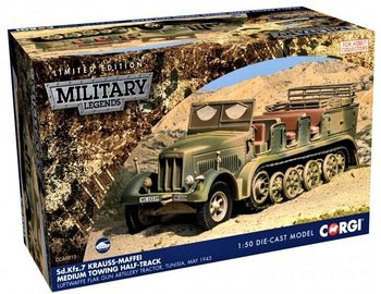 CORGI | SD.KFZ.7 KRAUSS-MAFFEI MEDIUM TOWING HALF-TRACK 1943 LIM.ED. | 1:50