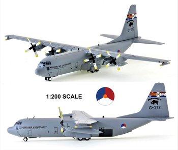 JFOX | LOCKHEED C-130H-30 HERCULES (L-382) KONINKLIJKE LUCHTMACHT KLU 'BLACK BULLS' | 1:200