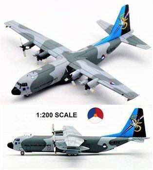 INFLIGHT200 | C-130H-30 LOCKHEED HERCULES 55 JAAR 334 SQUADRON KLU CAMOUFLAGE | 1:200