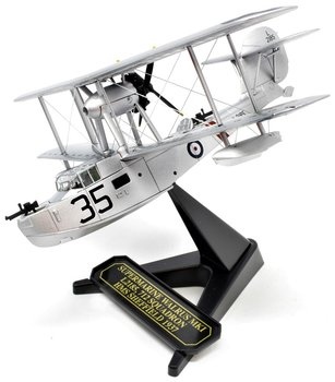 OXFORD DIECAST | SUPERMARINE WALRUS L2185 -712 SQN HMS SHEFFIELD 1937 | 1:72