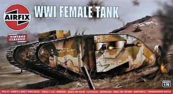 AIRFIX VINTAGE CLASSICS | WWI FEMALE TANK | 1:76
