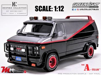 GREENLIGHT | GMC VANDURA A-TEAM VAN 1983 TV SERIES | 1:12