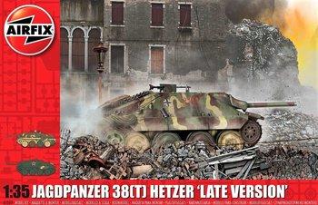 AIRFIX | JAGDPANZER 38(T) HETZER 'LATE VERSION' | 1:35