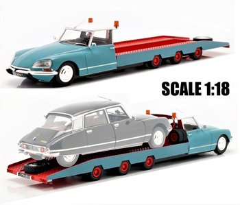 CMR | CITROEN DS TISSIER CAR AUTOTRANSPORTER 1970 | 1:18