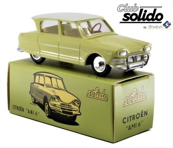 SOLIDO CLUB | CITROEN AMI 6 BERLINE 1961 | 1:43