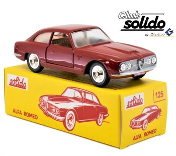 SOLIDO CLUB | ALFA ROMEO 2600 ROOD 1963 | 1:43