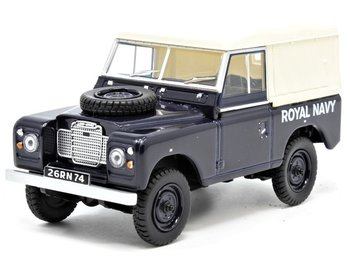 OXFORD DIECAST | LAND ROVER SERIES III SWB CANVAS ROYAL NAVY 1963 | 1:43
