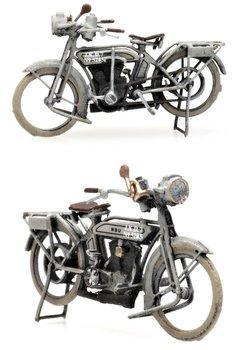 ARTITEC | NSU MOTORFIETS MILITAIR WOI 1914 (READY-MADE) | 1:87
