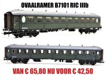 ARTITEC |OVAALRAMER B B7101 OLIJFGROEN RIC IIIb | 1:87