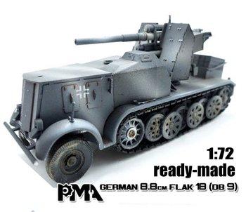 PMA | GERMAN SD.KFZ.8 DB9 FLAK18 88MM | 1:72