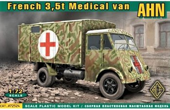 ACE | RENAULT AHN 3.5 t WWII FRENCH MEDICAL TRUCK | 1:72