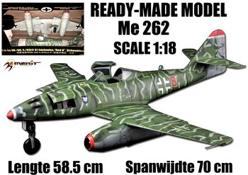 MERIT | ME 262 MESSERSCHMIT SCHWALBE (READY-MADE) 1944 | 1:18