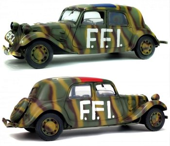 SOLIDO | CITROEN TRACTION CV11 FFI 1944 | 1:18