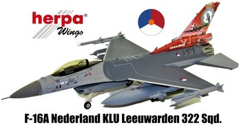 HERPA | F-16A LOCKHEED MARTIN KONINKLIJKE LUCHTMACHT LEEUWARDEN AIR BASE 75TH ANNIVERSARY | 1:72