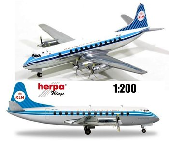 HERPA | KLM VICKERS VISCOUNT 800 PH-VIG | 1:200