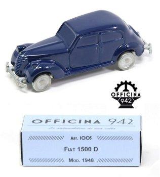 OFFICINA 942 | FIAT 1500 D BLAUW 1948 | 1:43